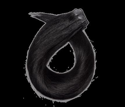 Tape On Basic-Jet Black (#1)-40cm